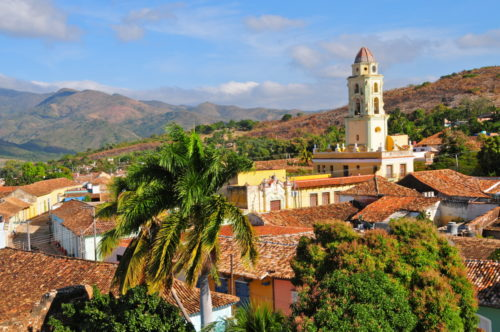 Stunning moutain views on Cuba yacht charter