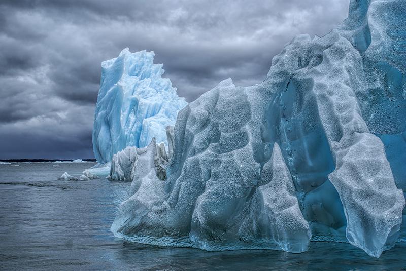 Laguna San Rafael National Park glaciers on a Patagonia yacht charter