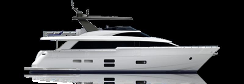 M75 Panacera Hatteras Yacht