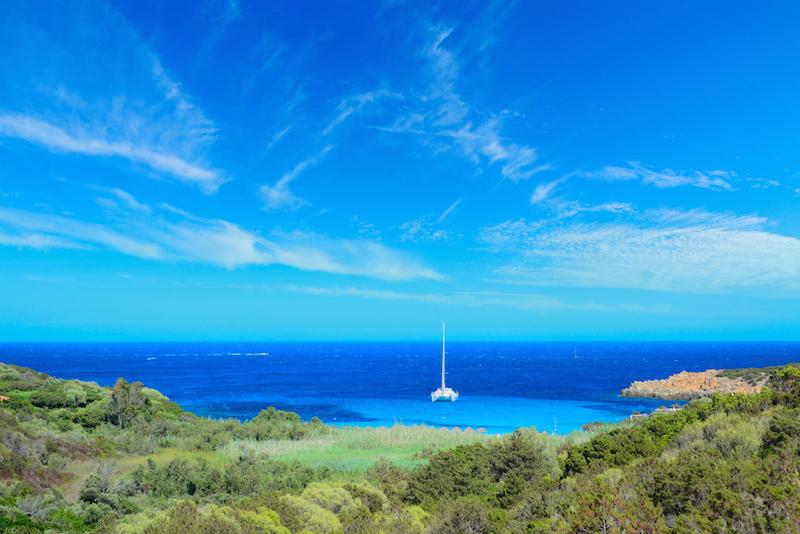 Sailing yacht on Sardinia yacht charter