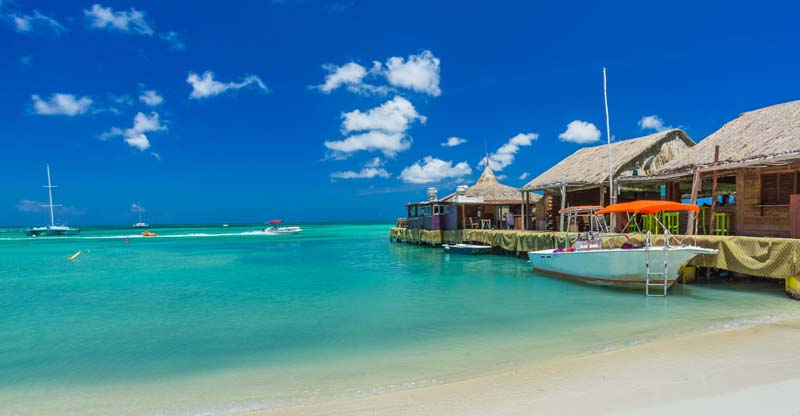 Palm Beach in Aruba, ABC Islands yacht charter