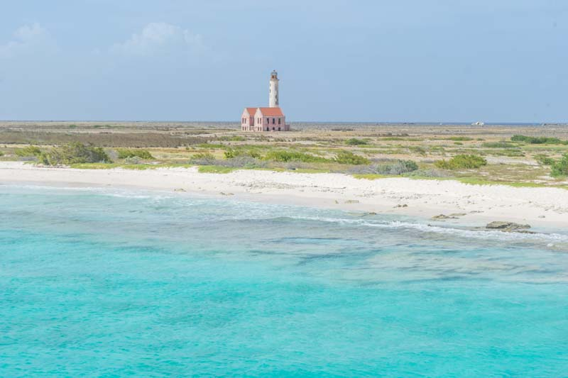 Curacao beach on ABC Islands yacht charter