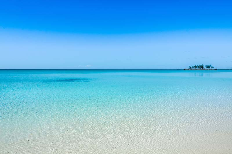 Eleuthera Island beach with Bahamian Out Islands yacht charter