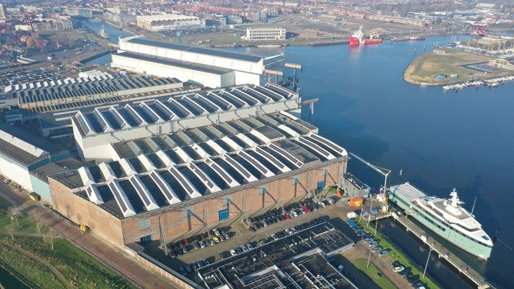 DAMEN SHIPYARD SOLAR POWER
