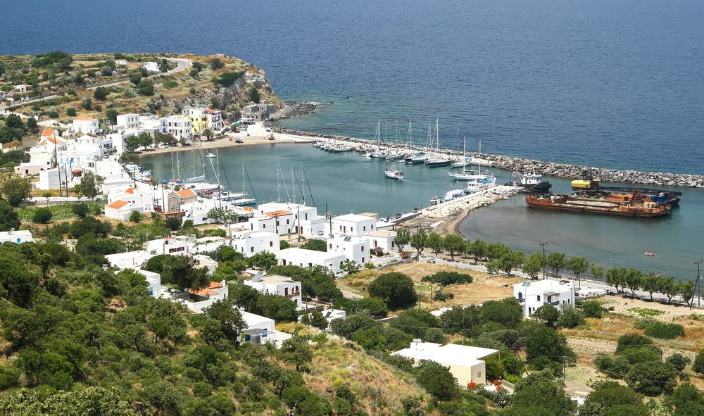 Dodecanese Yacht Charter view of the harbour