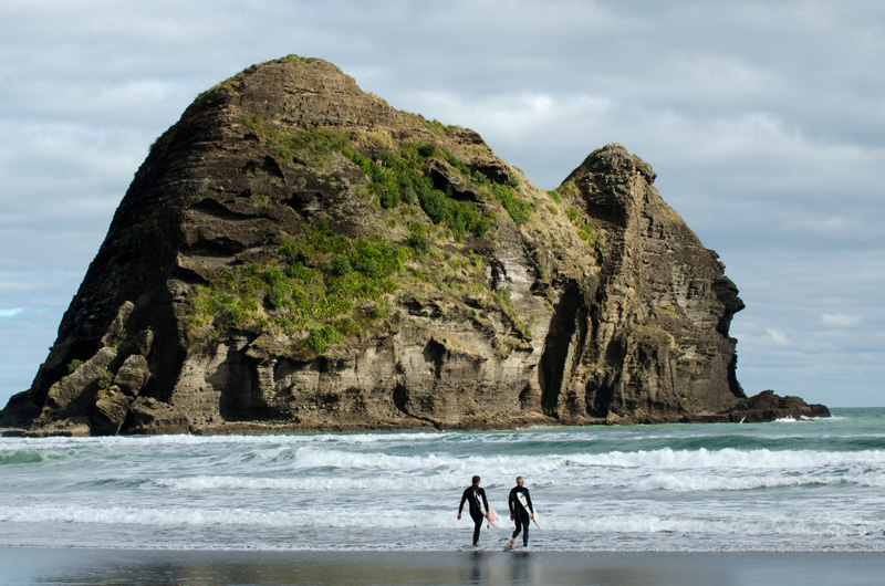 Surfing on New Zealand yacht charter