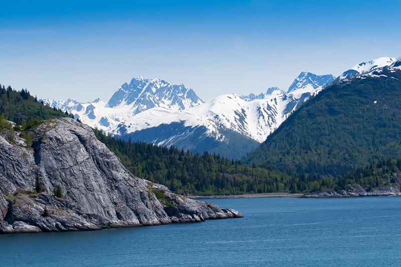 Ella Bay on a yacht charter itinerary Alaska