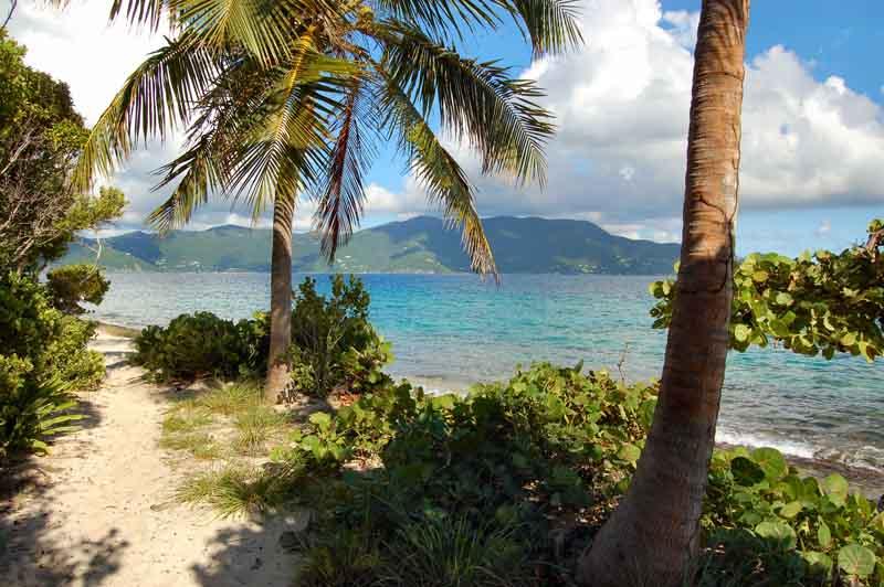 Marina Cay on a yacht charter itinerary British Virgin Islands