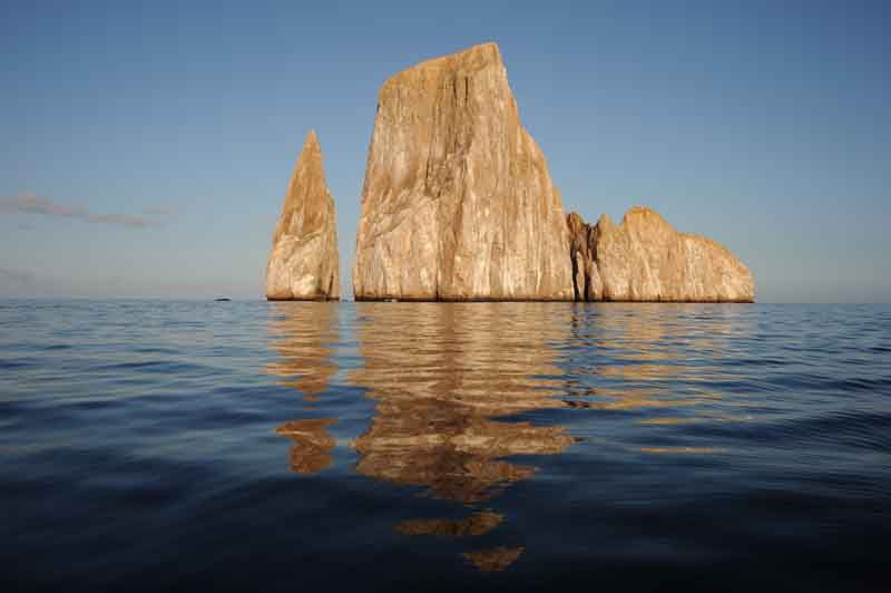 Cliffs on a yacht charter itinerary in the Galapagos 1