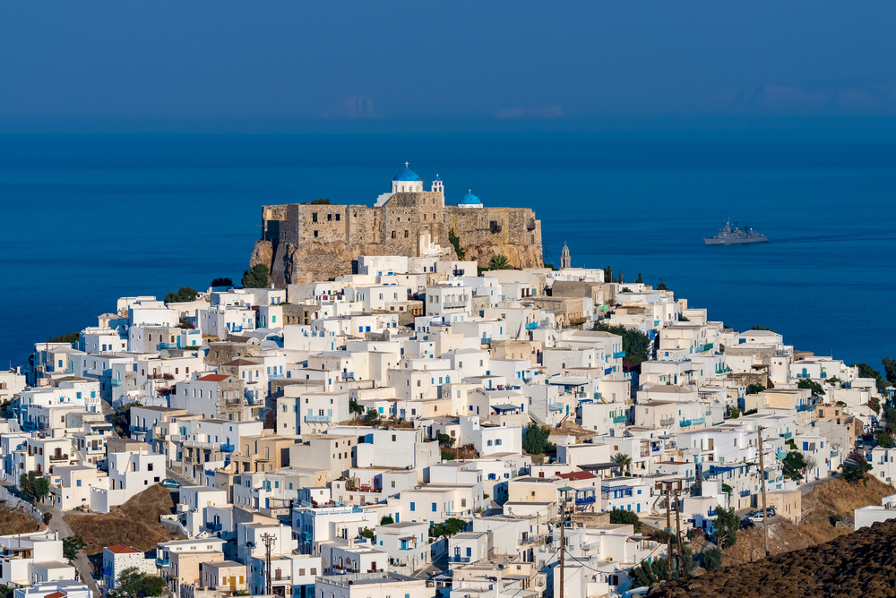View of Astypalea, Dodecanese Yacht Charter