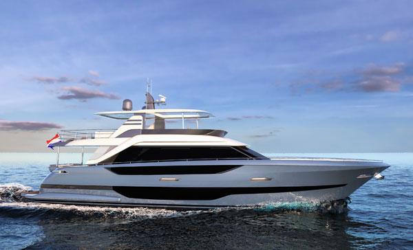 flybridge van der valk yacht for sale