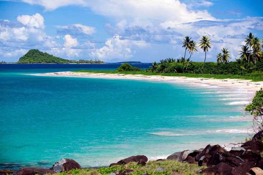 Beach on Grenada yacht charter