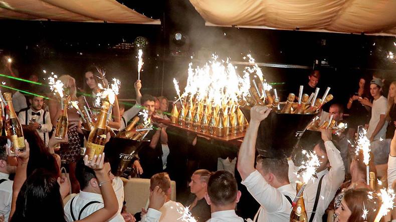 Monaco yacht charter birthday party nightlife