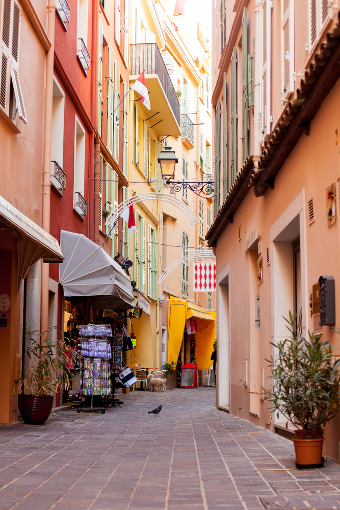 Explore charming streets on a Monaco yacht charter
