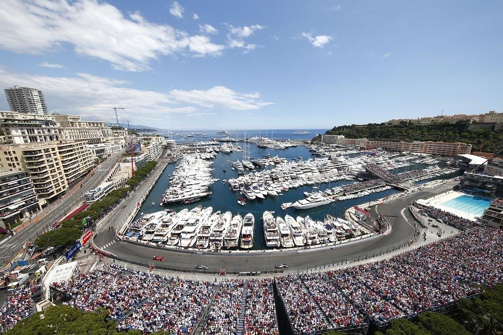 Monaco Grand Prix on a Monaco yacht charter
