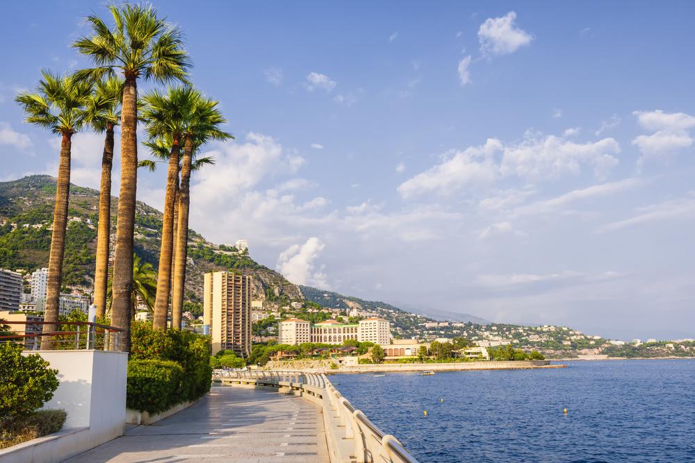 Champions Promenade on a Monaco yacht charter