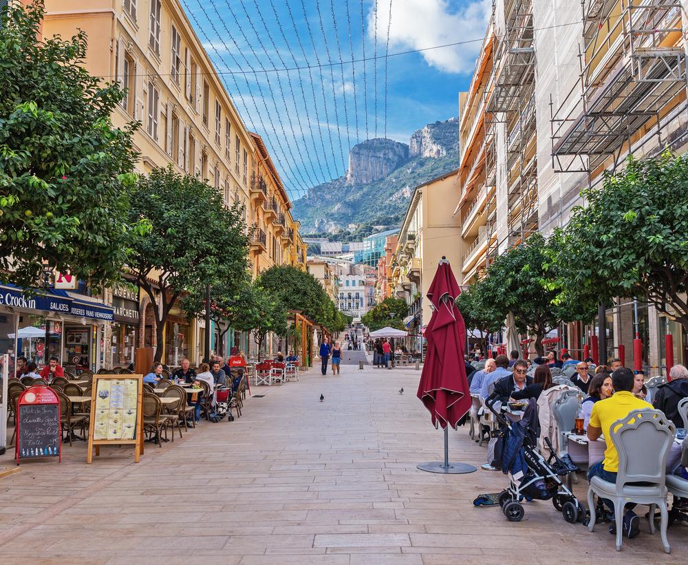 Streets of Monaco on a Monaco yacht charter