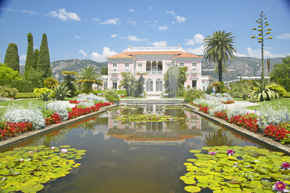 Gardens of the Villa Rothschild, Monaco yacht charter
