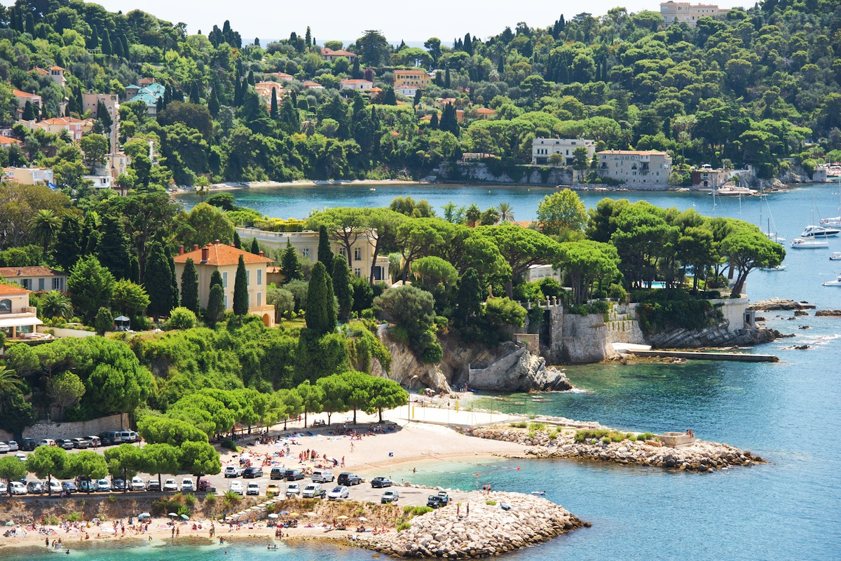 Villefrance on a South of France yacht charter