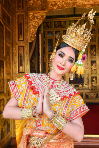 Traditional dancer, Thailand yacht charter