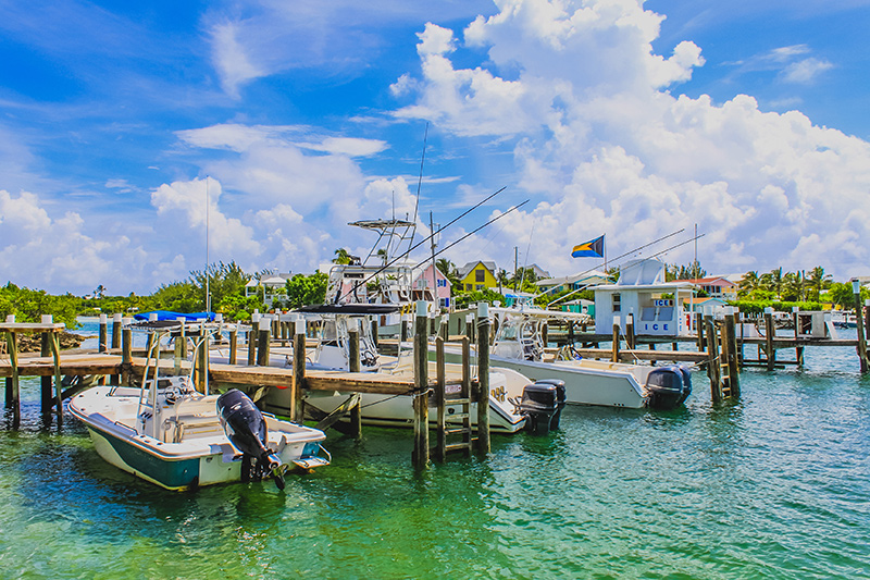 Hope Town on a yacht charter itinerary Abacos