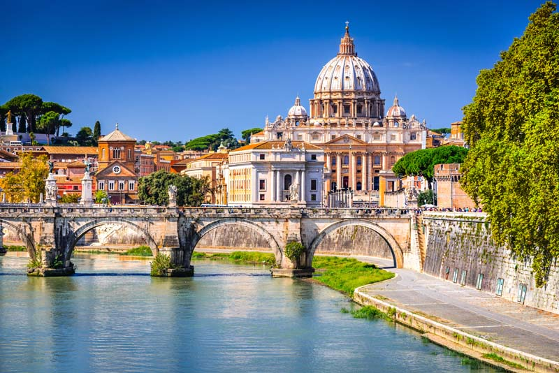 The Vatican on a yacht charter itinerary Amalfi Coast