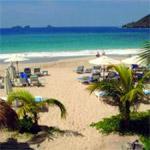 Nevis beach on a yacht charter itinerary Antigua