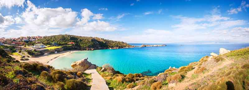 Campo Moro on a yacht charter itinerary Corsica
