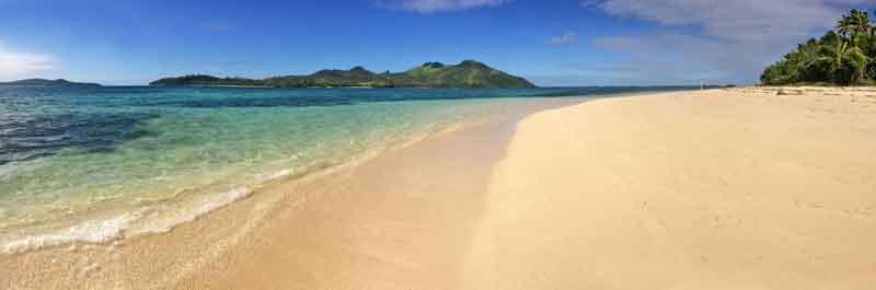 Champagne Beach on a Fiji yacht charter itinerary