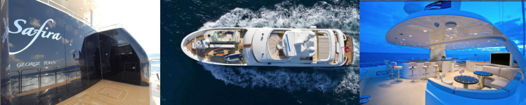 SAFIRA yacht for charter itinerary Greenland