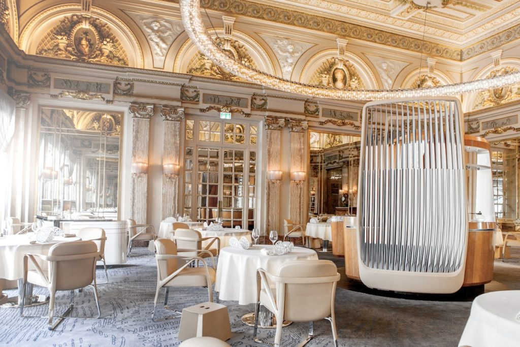 Louis XV restaurant on a yacht charter itinerary Monaco