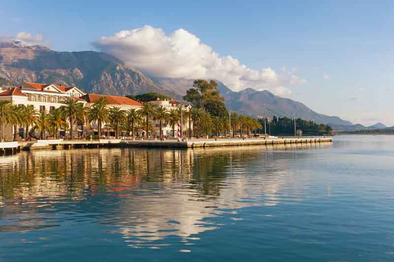 Tivat on a Montenegro yacht charter itinerary
