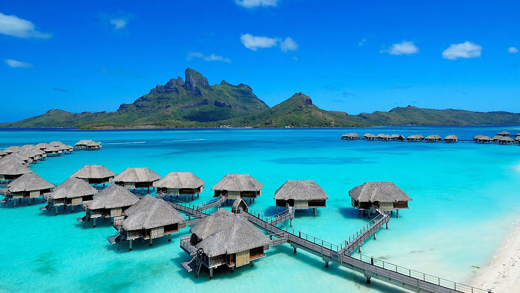 Luxury resort on a yacht charter itinerary Tahiti