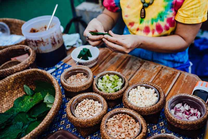 Culinary spices on a Thailand yacht charter itinerary