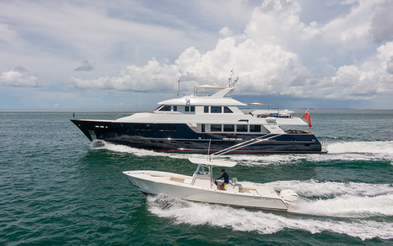 Childs Play Yacht for charter Maine