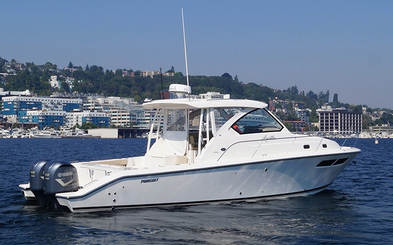Seattle Boats Afloat and Virtual Show Lucille 35 Pursuit 2018