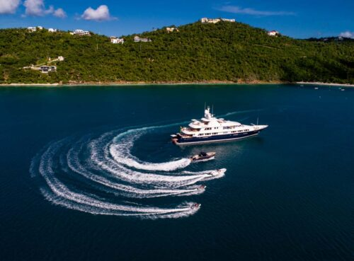 Luxury Feadship Yacht BROADWATER available for Charter Vacations