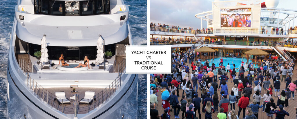 Cruise vs Yacht Charter