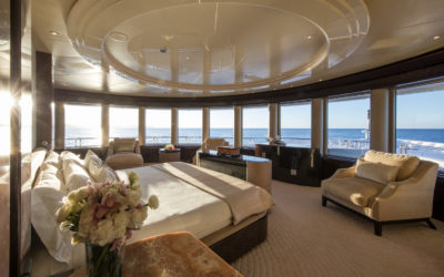 M/Y Eminence MAster Stateroom